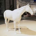 3D printed horse